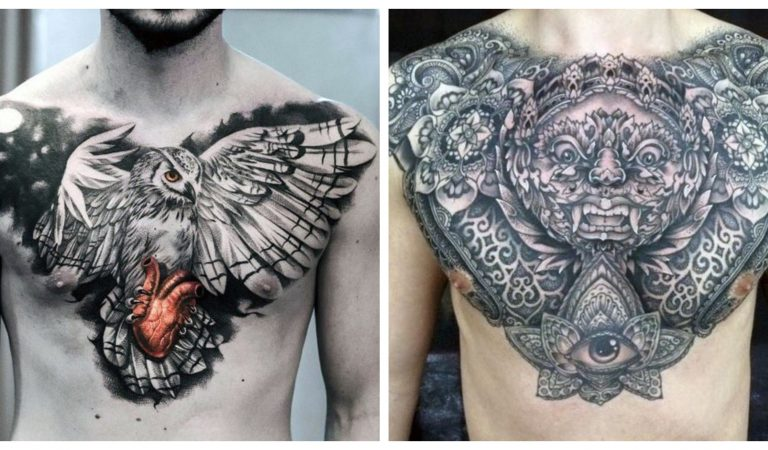 10 Best Chest Tattoo Ideas For Men To Bare With Pride
