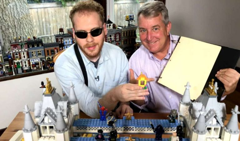 Blind Entrepreneur Who Is Helping Blind Kids All Over the World By Creating Braille LEGO Kits