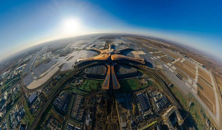 """Airport From The Future"" Just Opened In Beijing, Here Are The Pictures!"