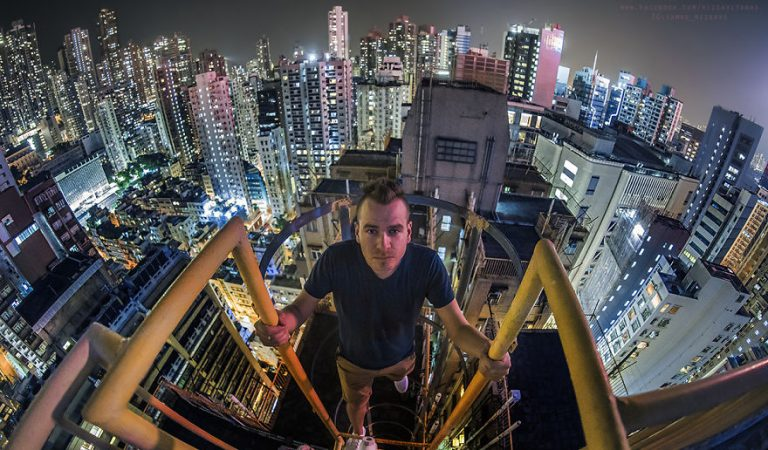 A Photographer Climbed Risky Spots In Hong Kong – What He Captured Will Stun You