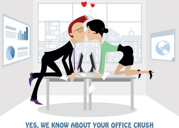 How To Handle A Crush On Your Co-Worker Like A Boss!