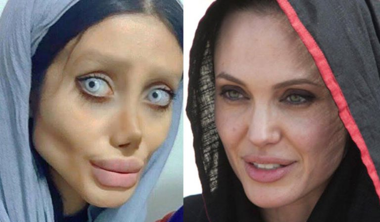"""Zombie"" Angelina Jolie Lookalike Arrested In Iran, And Everything About This Event Is Messed Up"